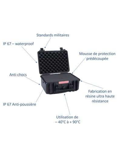 IP case valise étanche