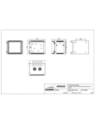 HPR509/B PLAN