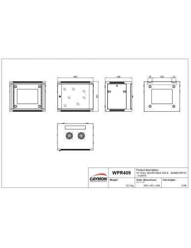 WPR409/W-2