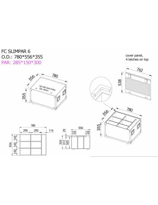 Plan FC SLIMPAR 6