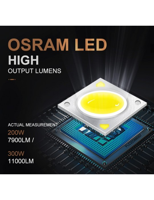 PI 300 gobo projecteur LED OSRAM