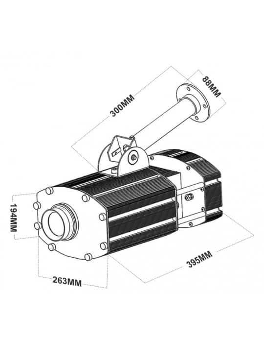 SNOW 300 R1 IP dimensions