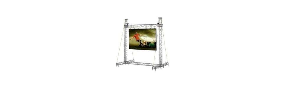 Supports Support écrans géants LED FRAME 5 X 3 LED FRAME 6 X 4 LED FRAME 8 X 6
