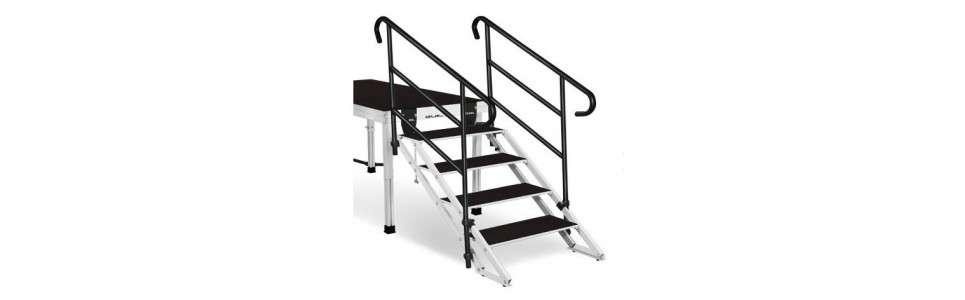 Praticables Escaliers & accès praticables ECT20 ECT20-40 ECT20-60