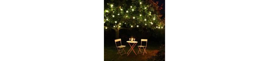 Guirlandes guinguettes et ampoules