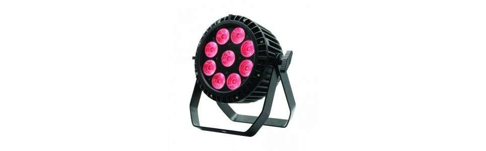 Eclairage de colorisation à LED Colorisation sur batterie MOOVE PAR 908 IP MOOVE LED