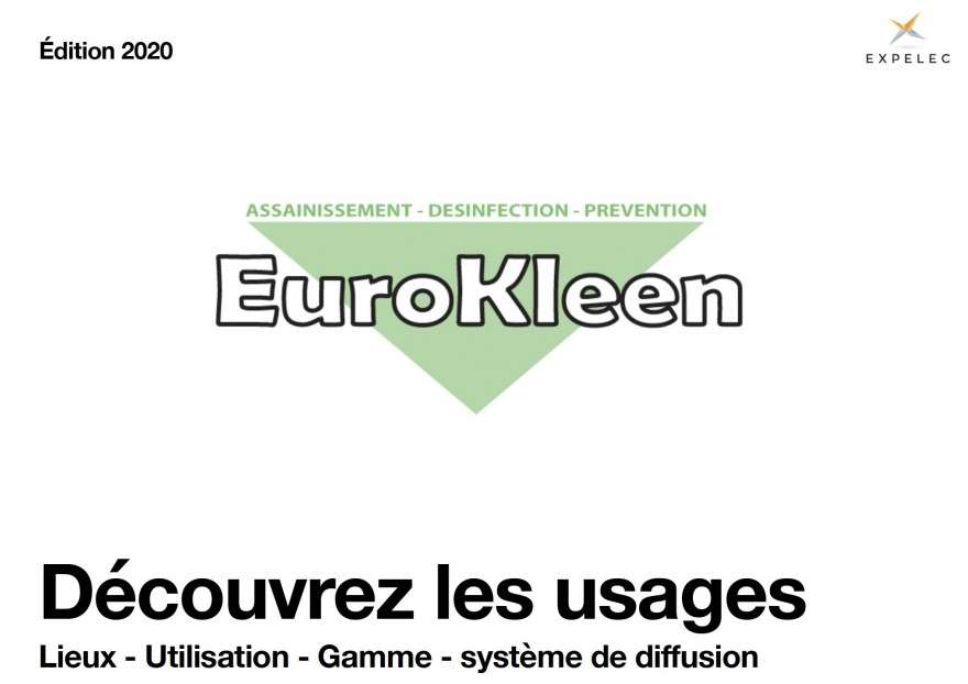 Gamme Eurokleen, les solutions anti COVID