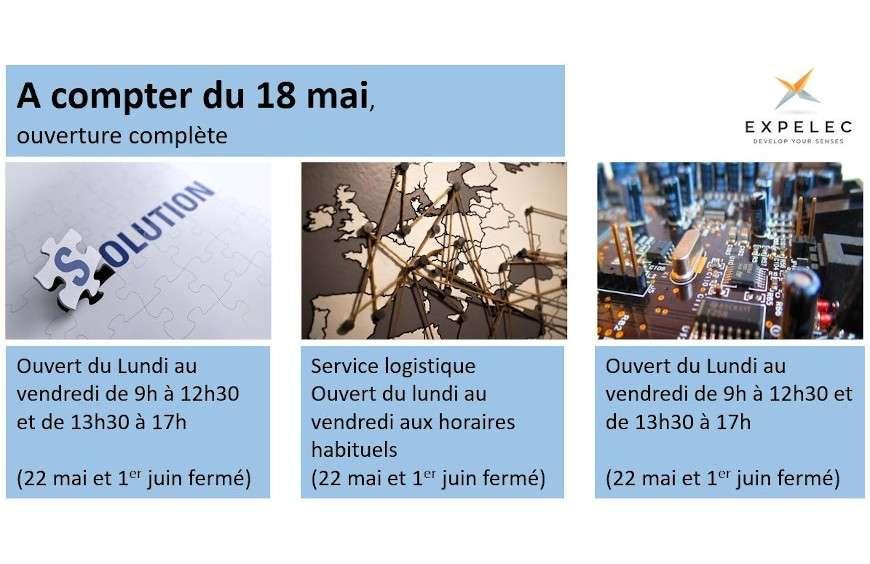 Réouverture complète le 18 mai